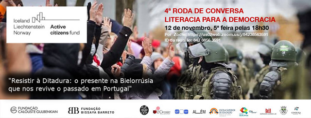 4ª Roda de Conversa Literacia para a Democracia